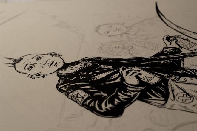 The Dharma Punks_Kickstarter WIP
